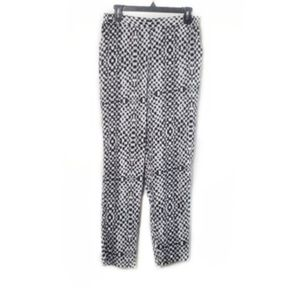Sam Edelman Checkered Slouchy Casual Pants